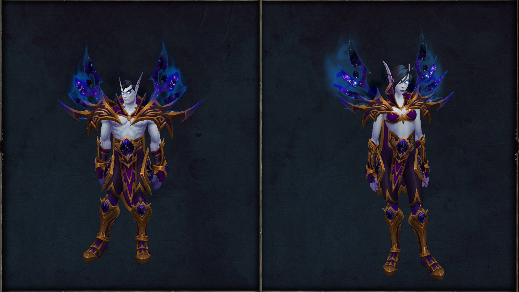 Les Elfes du Vide et leur ensemble d'armure ancestrale
