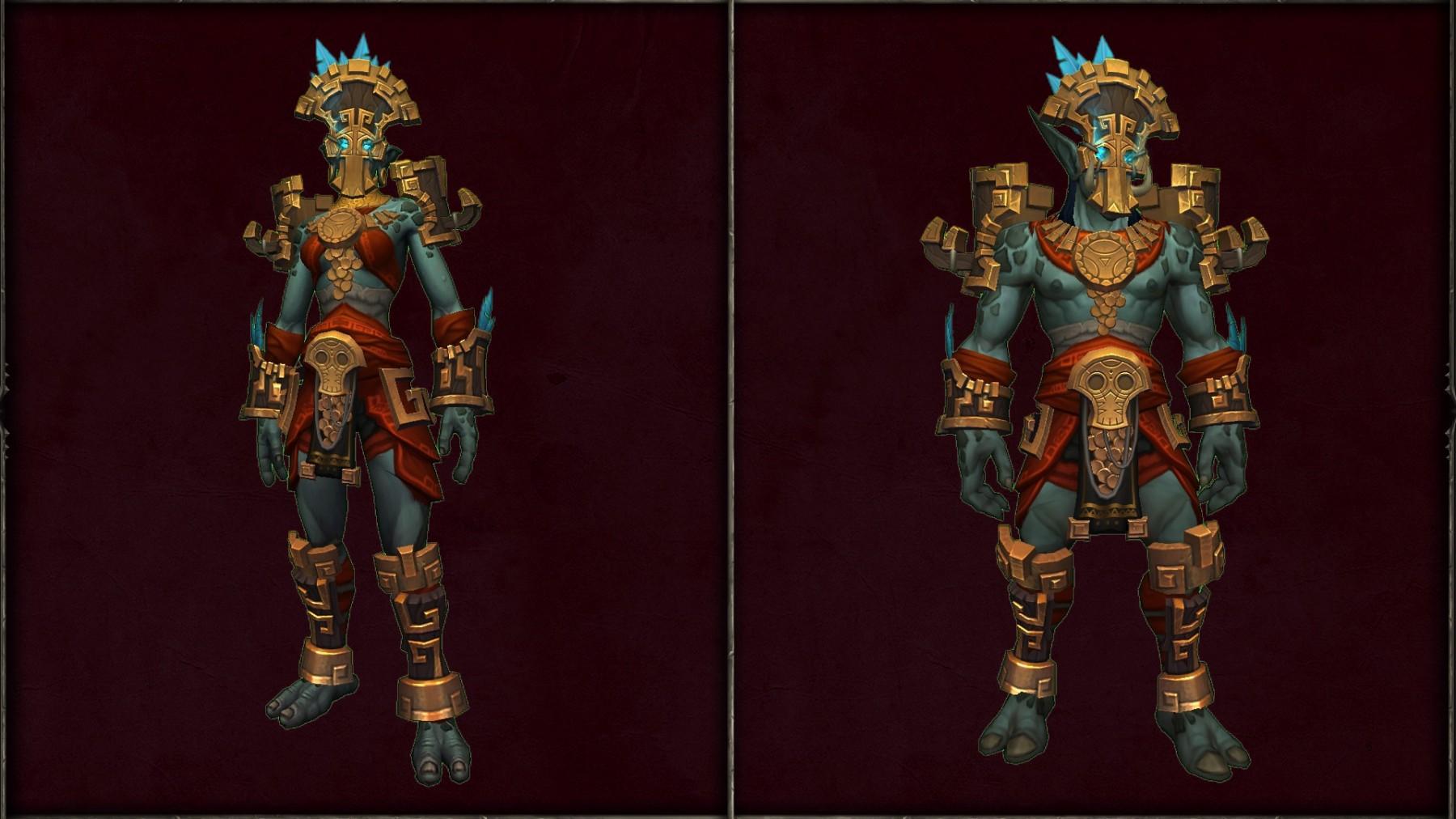 Armure ancestrale des Trolls zandalari