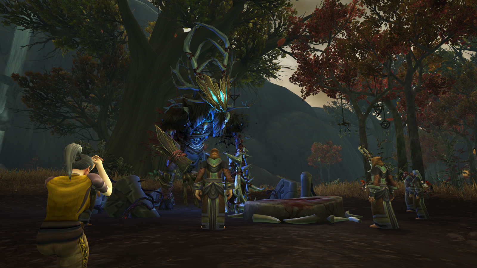 Drustvar, zone de Kul Tiras (Alliance)