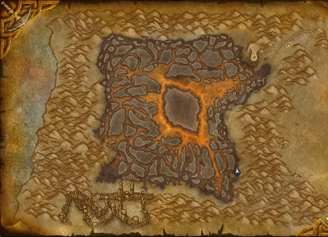 La nouvelle carte de Silithus