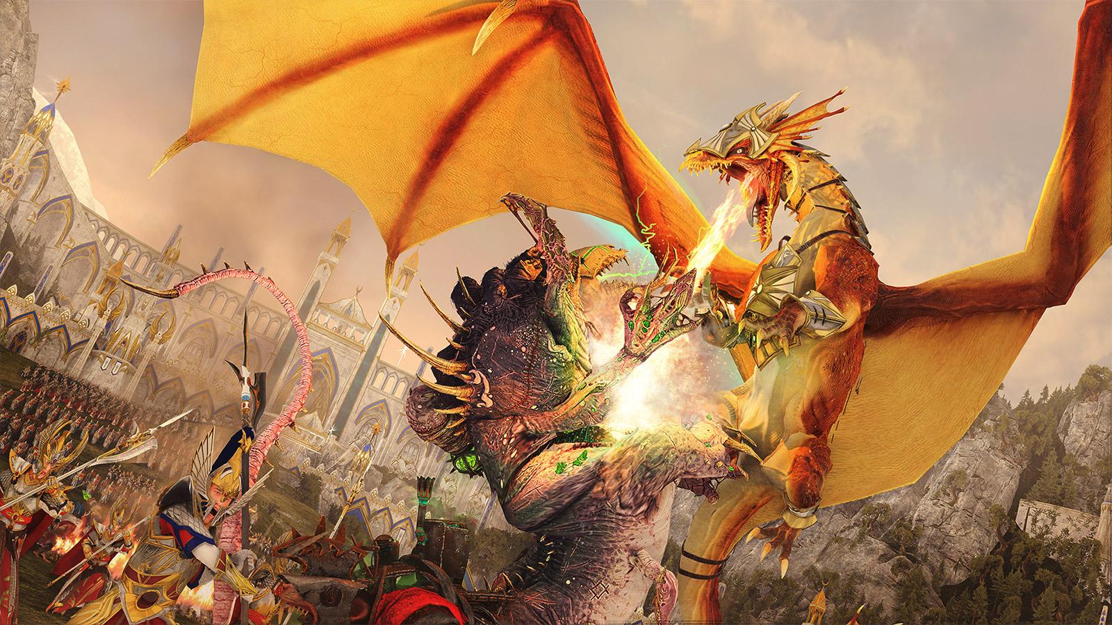 La trilogie Total War : Warhammer vous offre l'occasion de prendre le contrôle de créatures mythiques