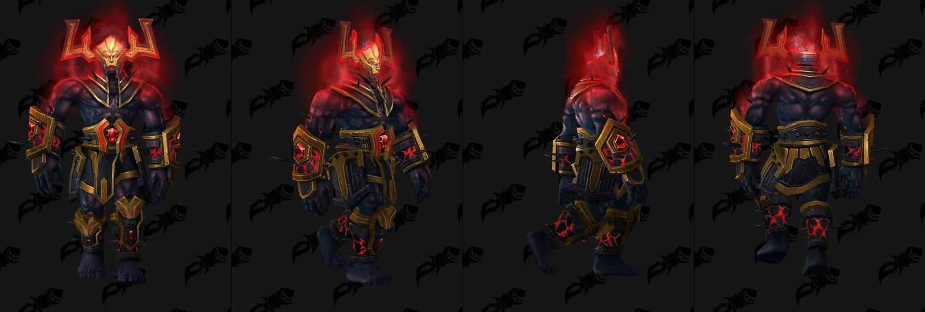 Six bijoux peuvent être obtenus sur Argus l'Anhihilateur, le boss final d'Antorus