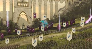 Les batailles se déroulent en temps réel