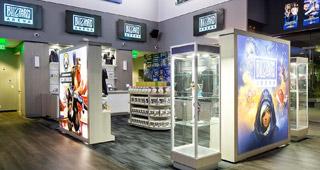 Boutique de la Blizzard Arena LA