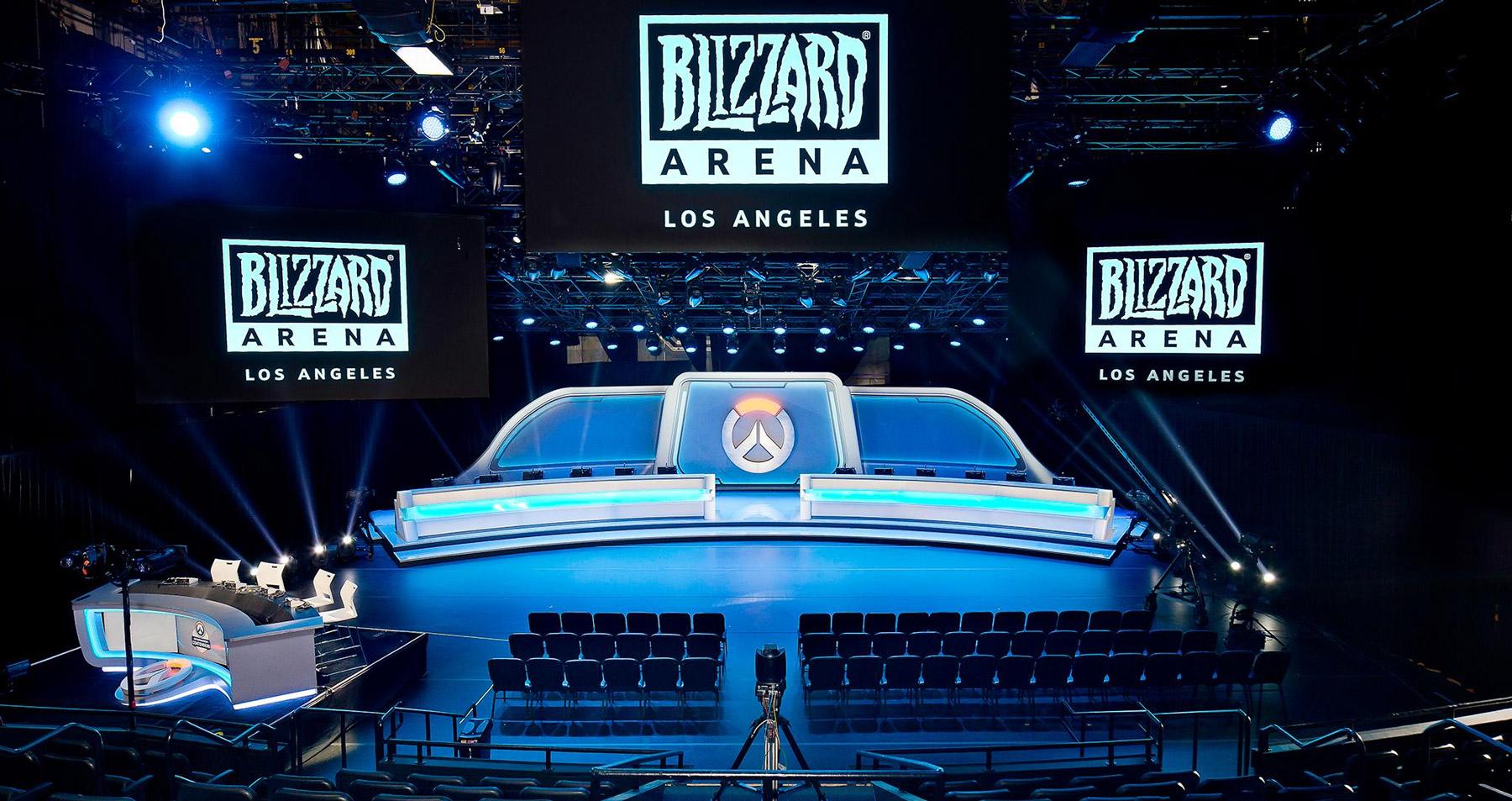 La scène de la Blizzard Arena Los Angeles accueille son premier tournoi ce week-end