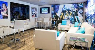 Salle VIP de la Blizzard Arena LA