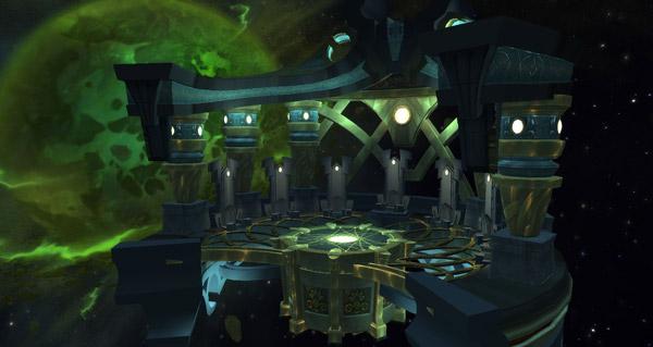 vision d'aman'thul : un bijou legendaire dans la table de butin d'argus l'annihilateur