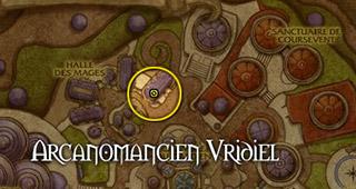 L'arcanomancien Vridiel se trouve à Dalaran