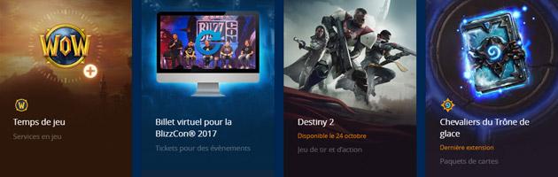 Offrez du temps de jeu World of Warcraft à vos amis Battle.net