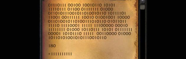 Code binaire (version française de l'indice)