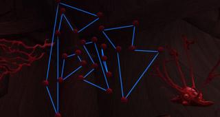 Formez uniquement des lignes bleues pour terminer le casse-tête