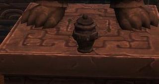 Urne interactive dans la Tombe des Secrets