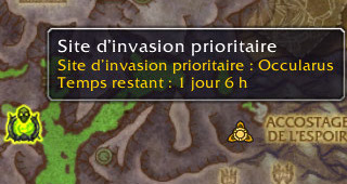 Site d'invasion prioritaire