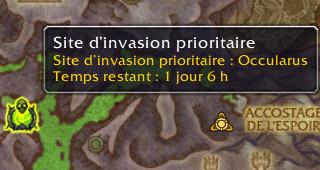 Site d'invasion prioritaire