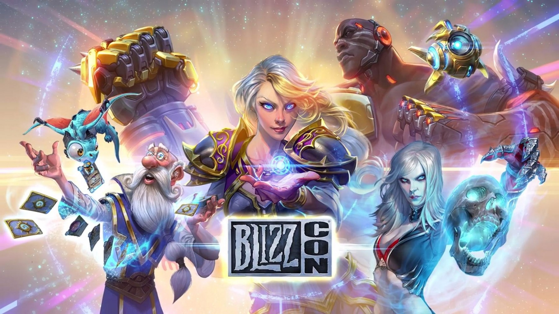 L'affiche officielle de la Blizzcon 2017