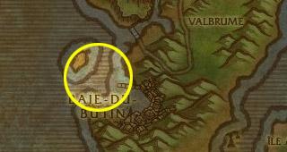 Vieux L'ouïe se situe dans la baie de Baie-du-butin