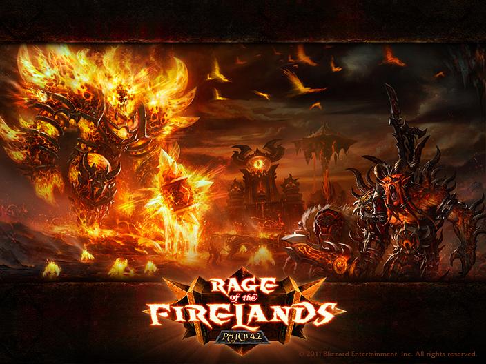 Un nouveau fond d'écran sur le thème des Terres de feu