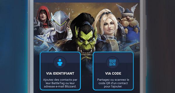 blizzard lance une nouvelle application pour rester en contact avec vos amis
