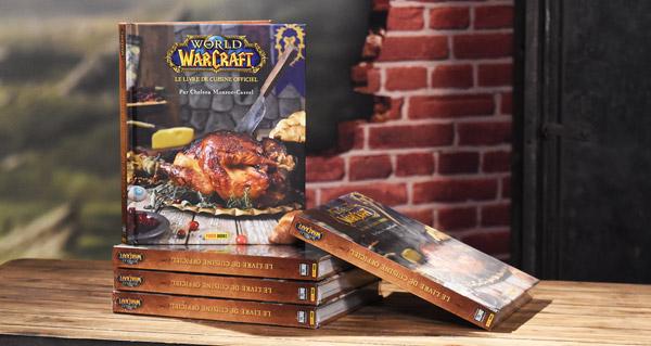 world of warcraft, le livre de cuisine officiel : 5 exemplaires a gagner