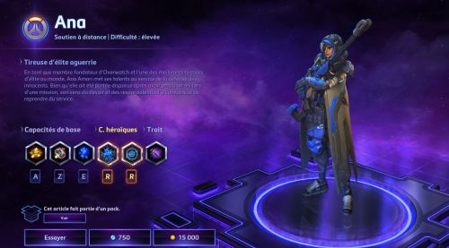 Image de Heroes of the Storm : Skins Ana patch 28