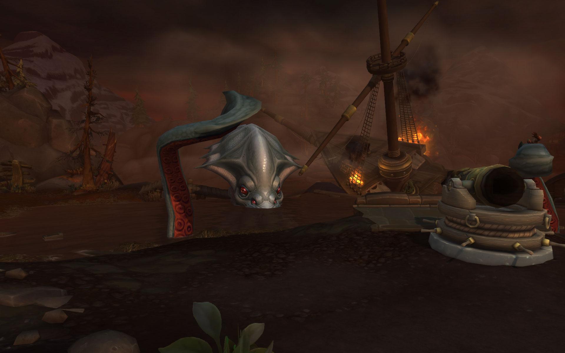 Vous devez réparer les canons côtiers pour venir à bout de Viq'Goth