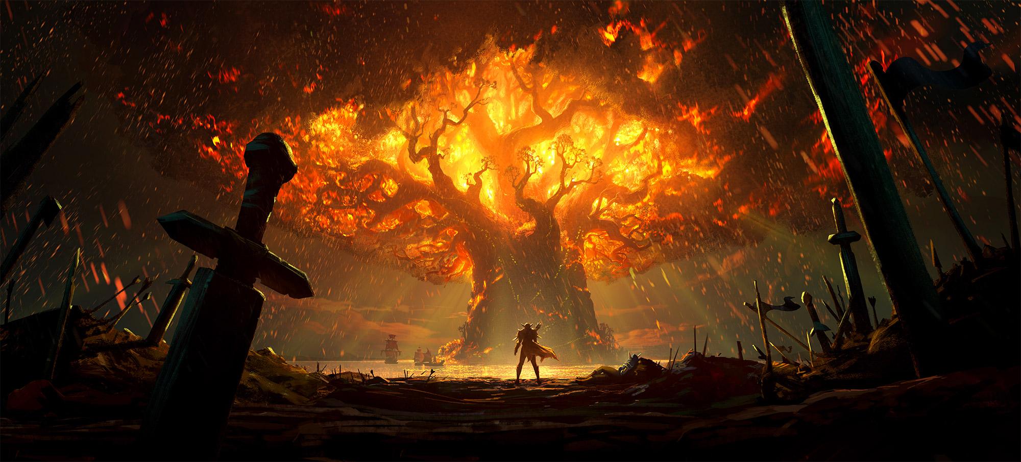 L'incendie de Teldrassil a uni l'Alliance comme jamais auparavant
