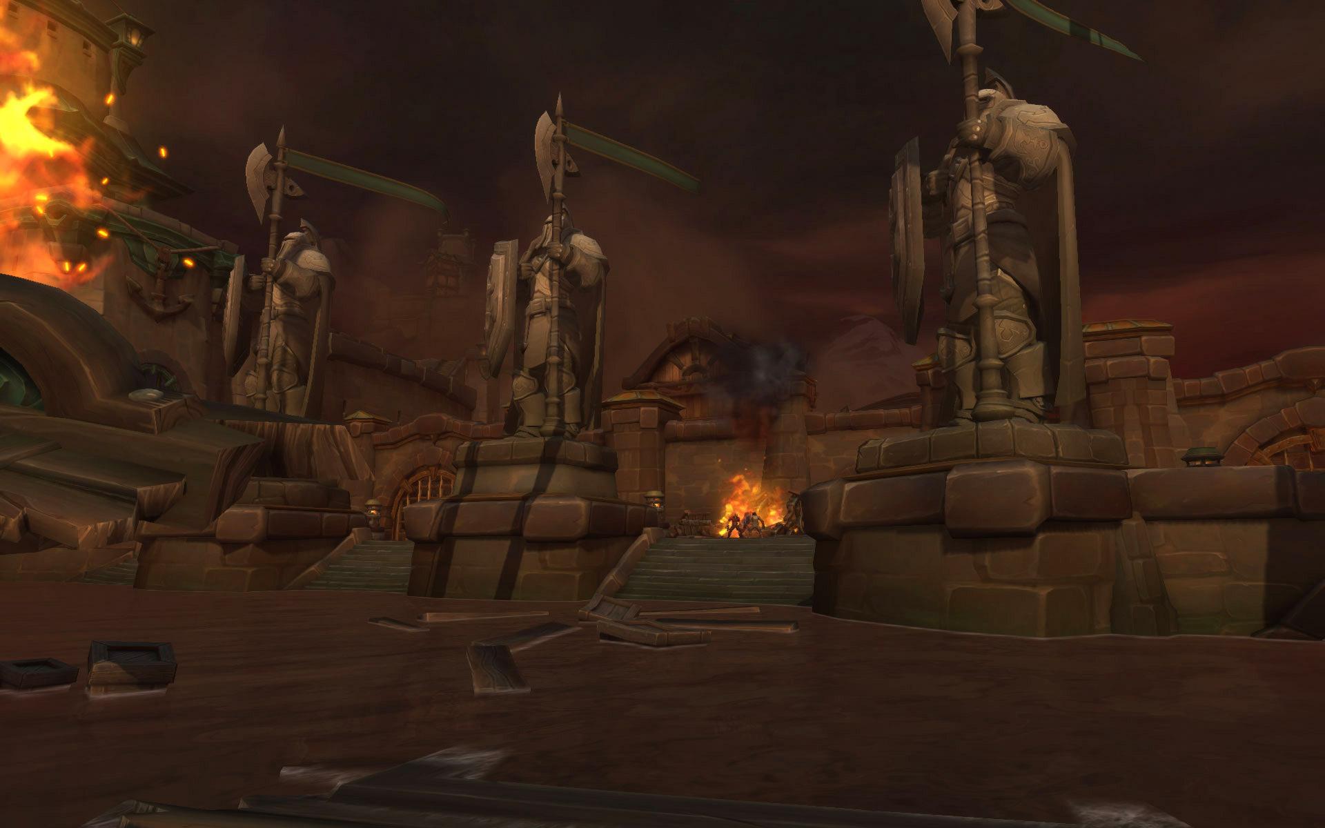 La ville de Boralus est assiégée par les forces de Dame Corsandre