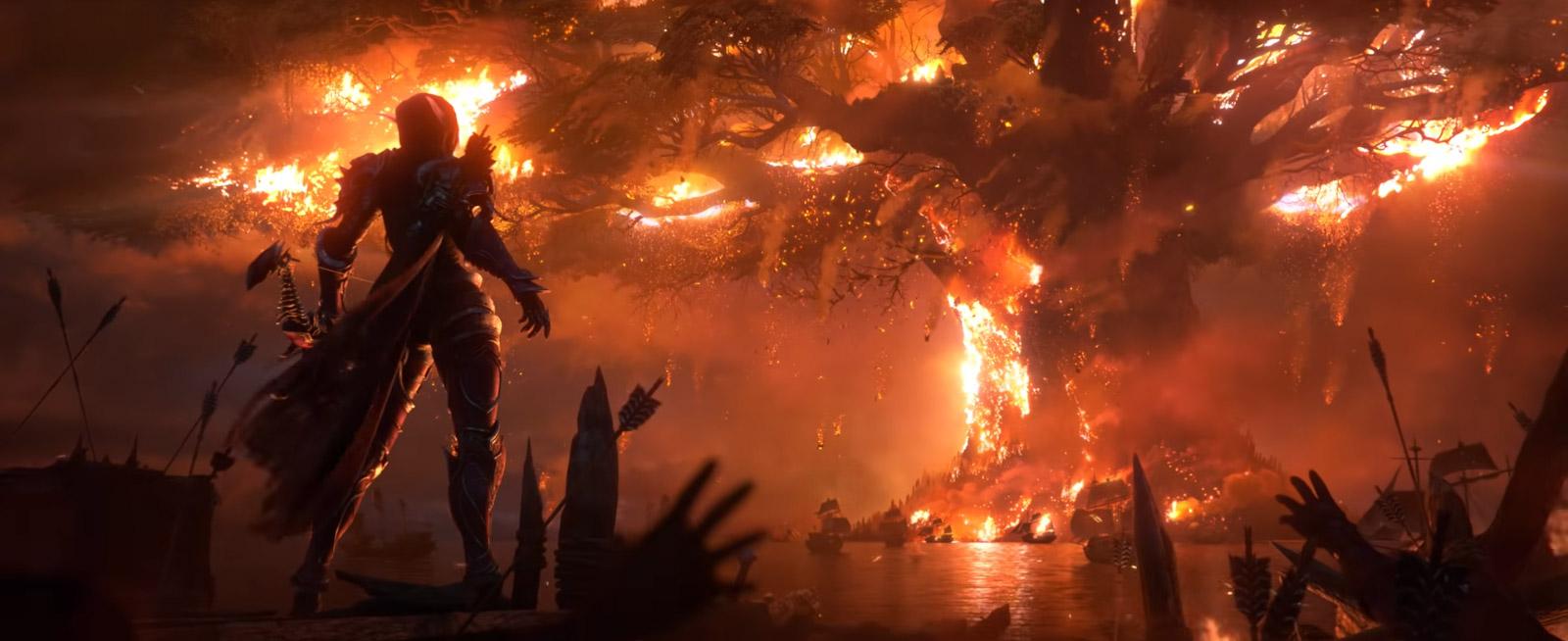 Saurcroc se souvient avec horreur de Teldrassil