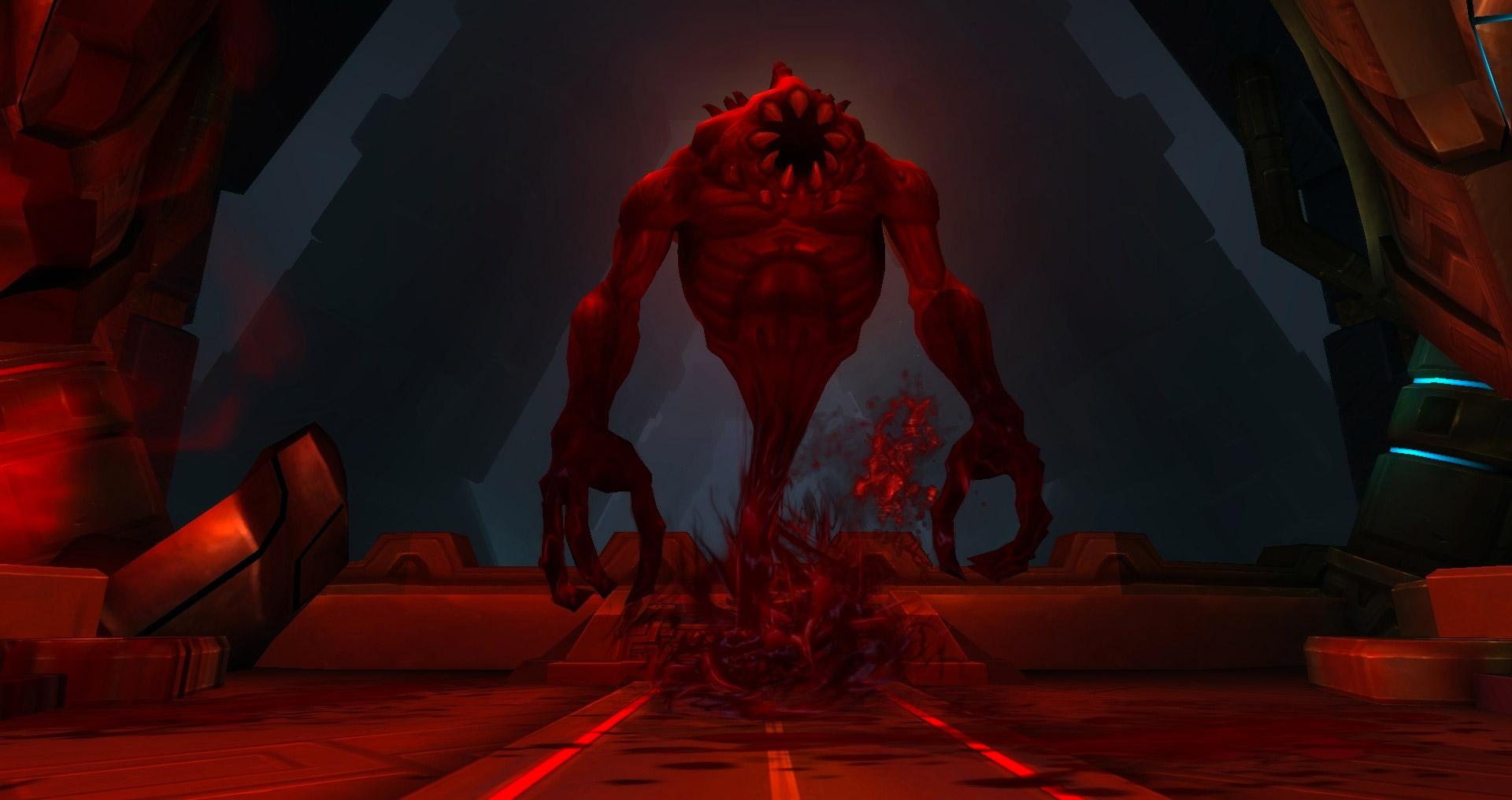 Le sanguicell peut-être obtenu sur les boss d'Uldir
