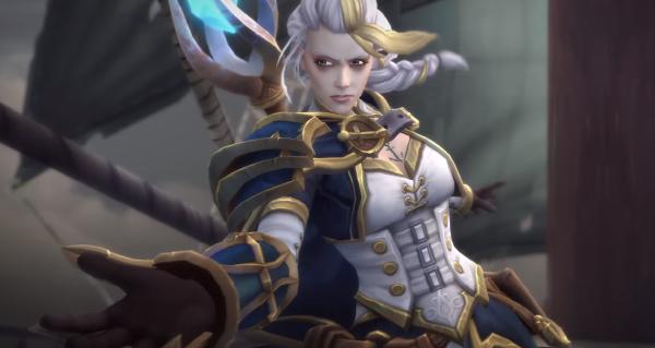 bataille de lordaeron : les cinematiques en jeu