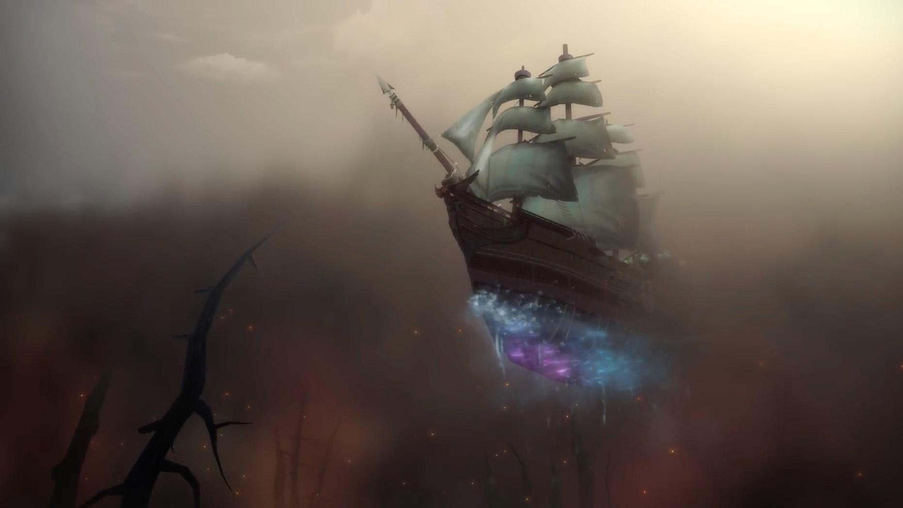Jaina surgit sur son navire Kultirassien
