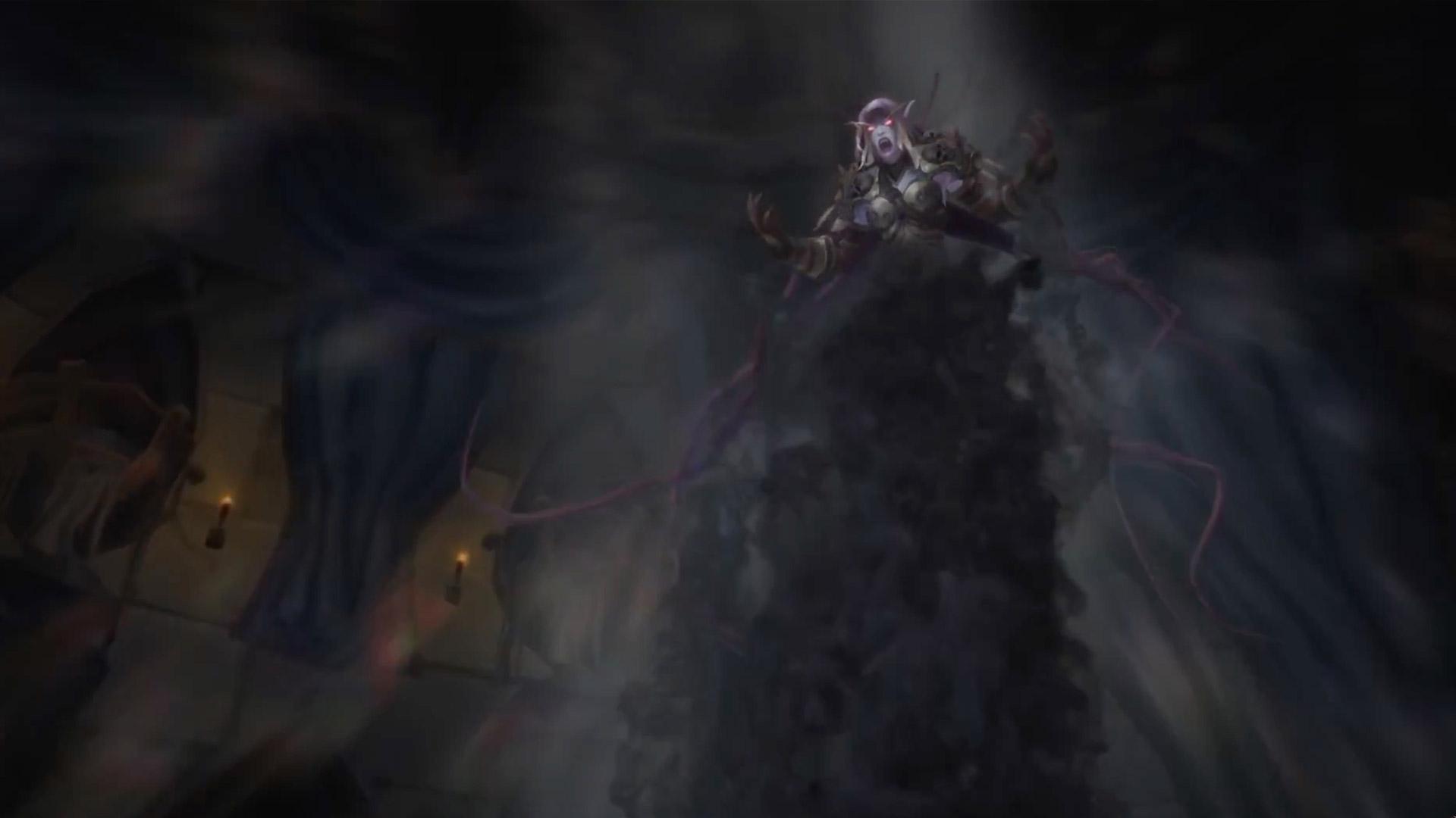 La reine banshee se transforme et tout commence à s'effondrer