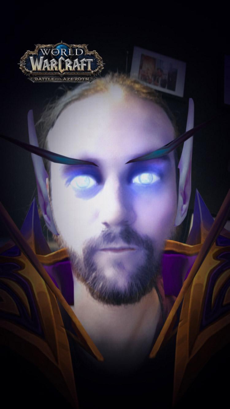 Les filtres permettent de changer votre visage