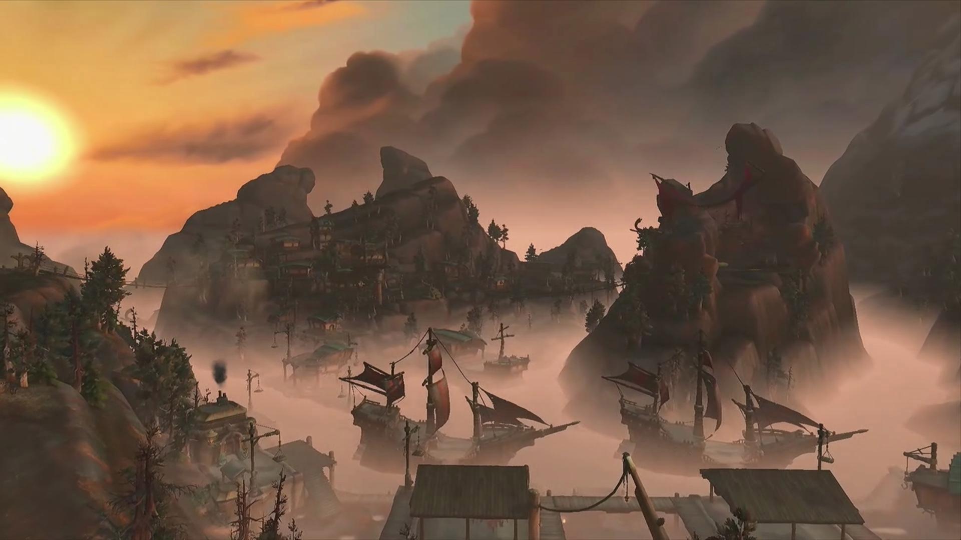 Les joueurs de l'Alliance ou de la Horde, se sentiront chez eux sur ces nouveaux continents