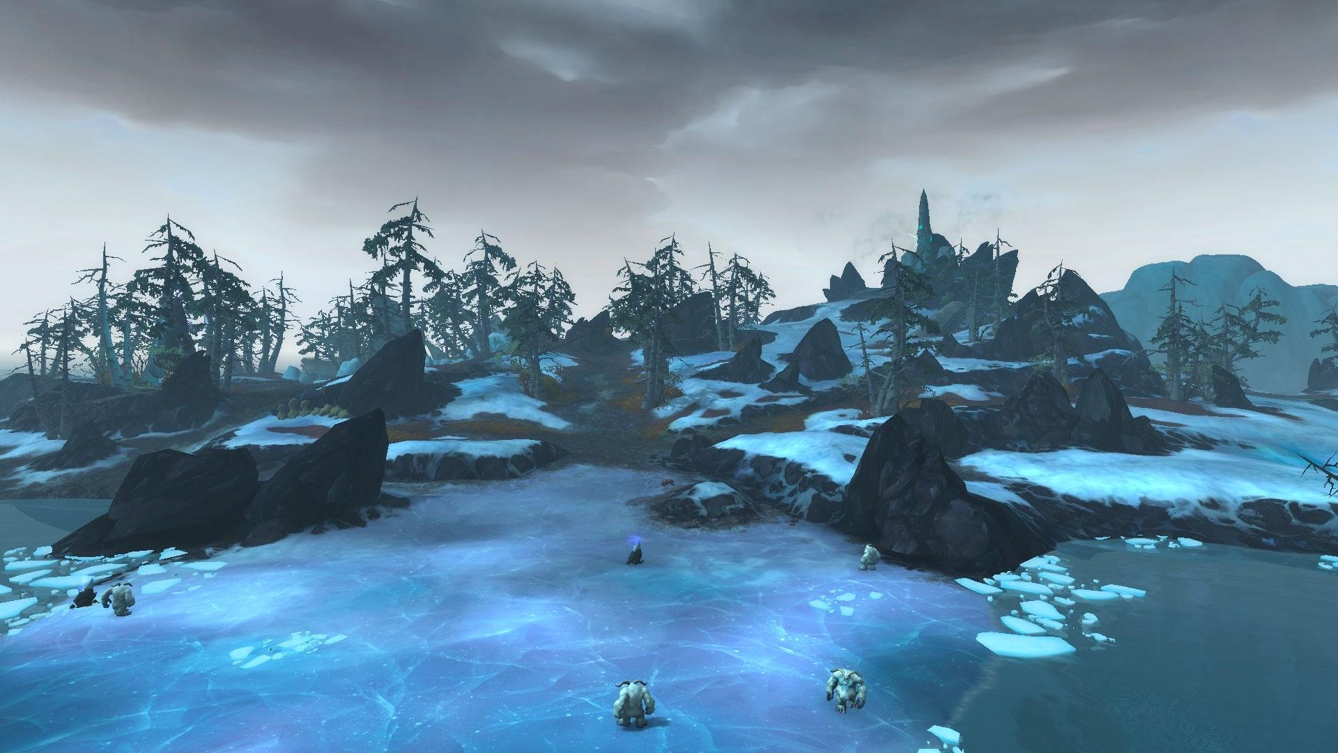 Les berges de l'effroi sont couvertes de neige