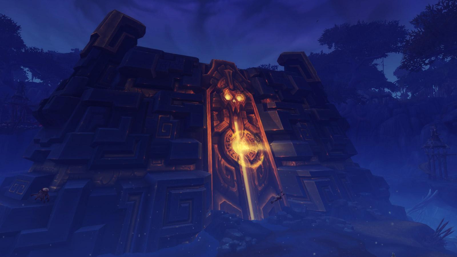 L'architecture d'Uldir s'intègre parfaitement dans l'environnement Troll
