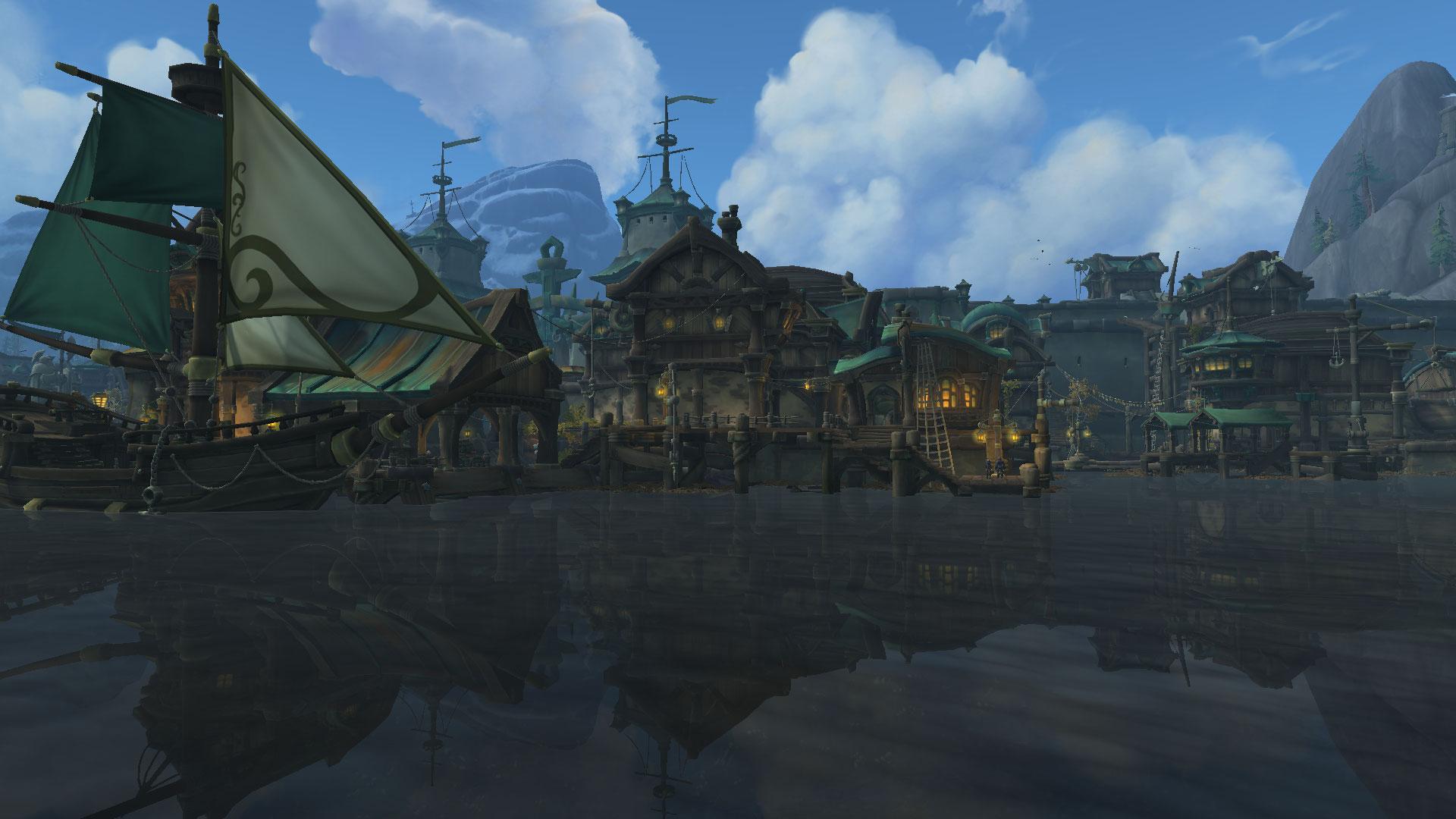 Boralus est la capitale de l'Alliance