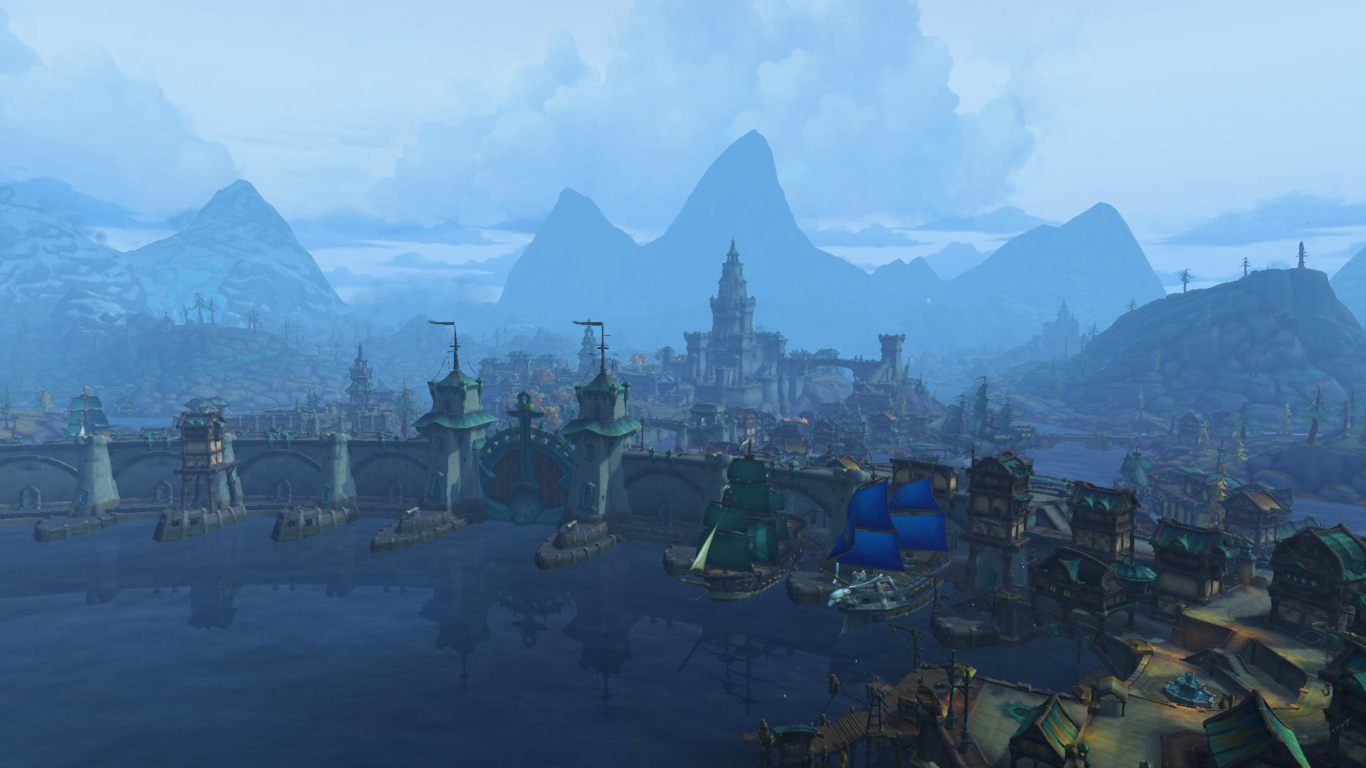 Boralus, capitale de Kul Tiras et de l'Alliance à Battle for Azeroth