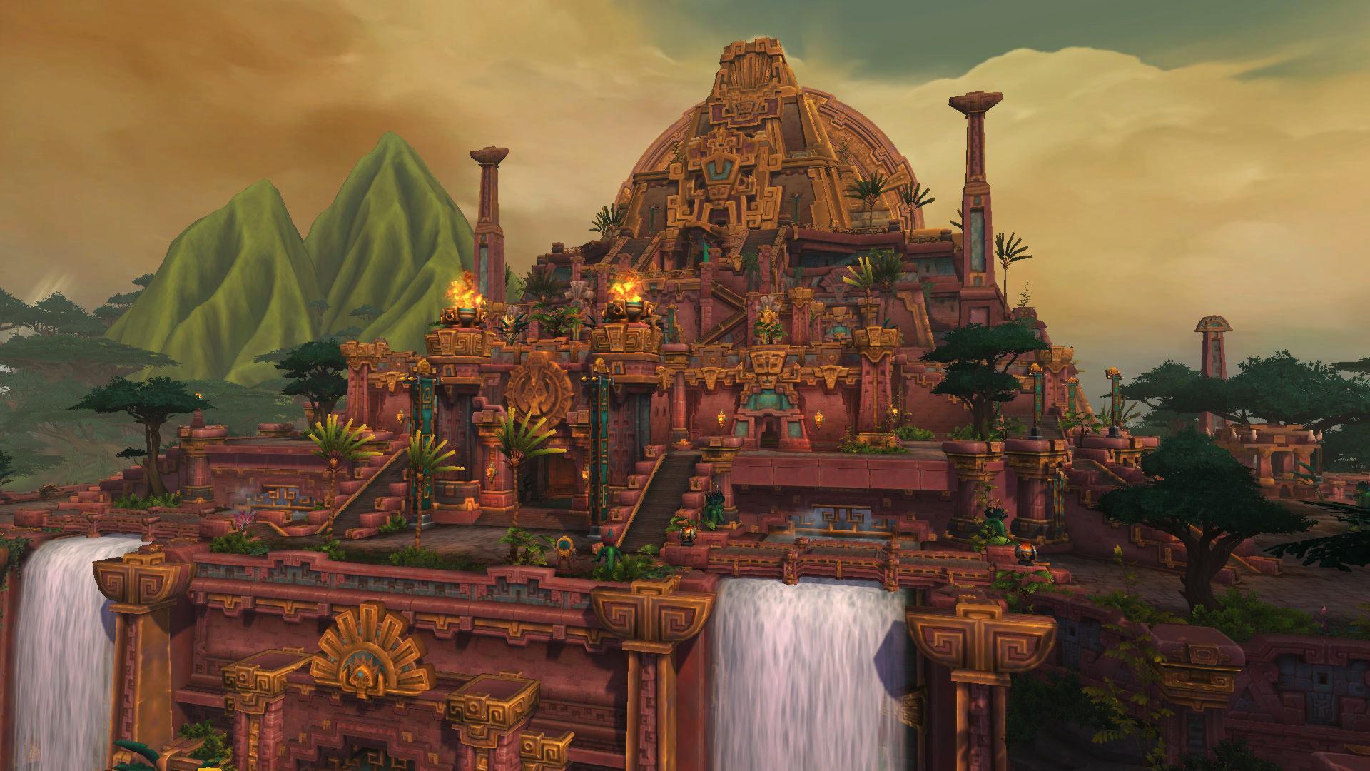 Dazar'alor, capitale de Zandalar et de la Horde à Battle for Azeroth