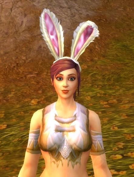 Validez le haut-fait avec les oreilles de lapin