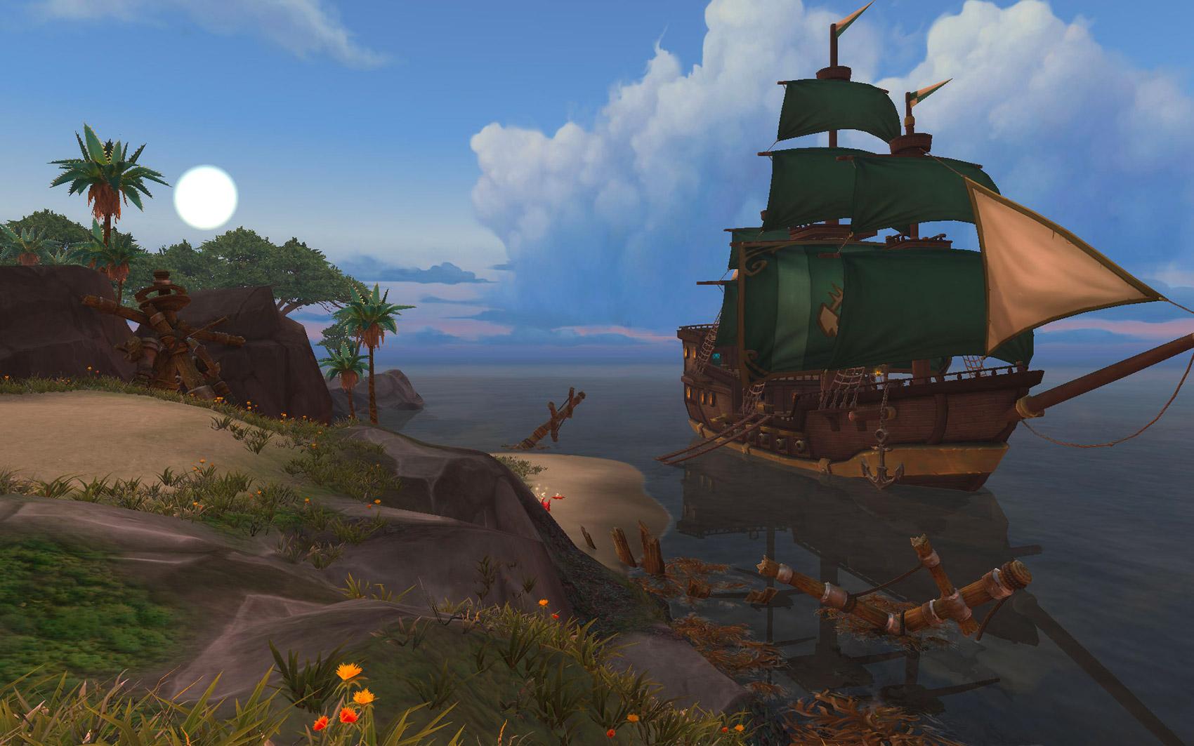 Partez explorer les îles à partir du niveau 116