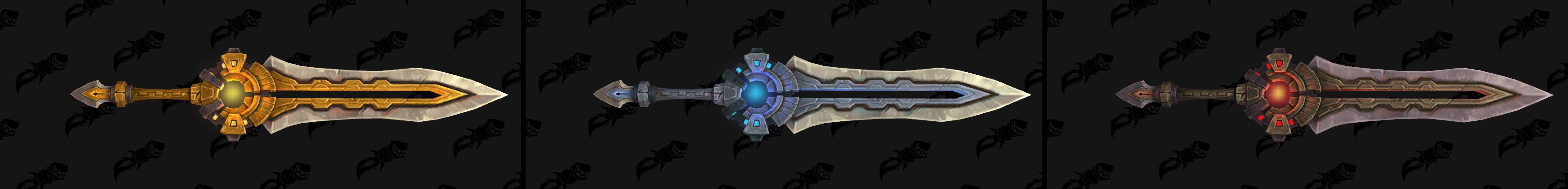 Epée deux mains de Nazmir