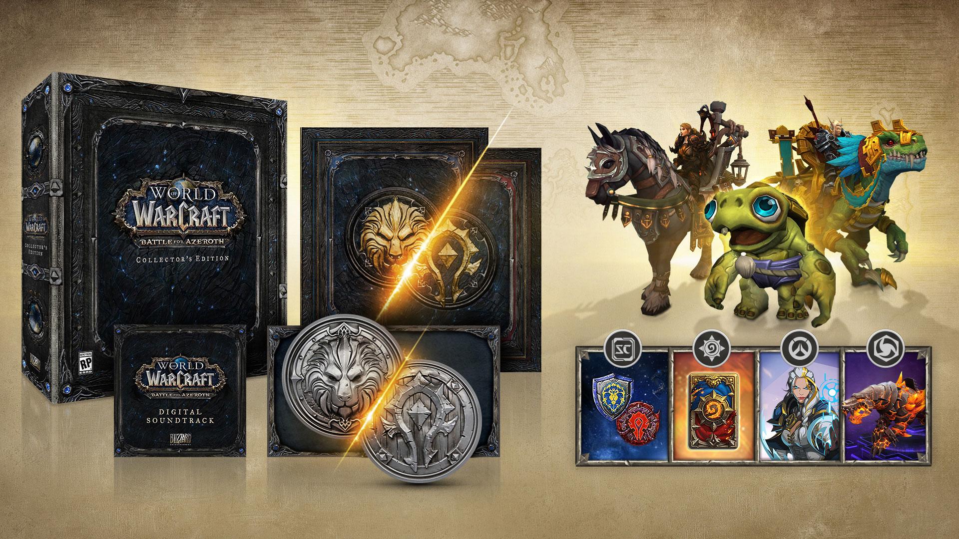 Contenu de l'édition collector de Battle for Azeroth