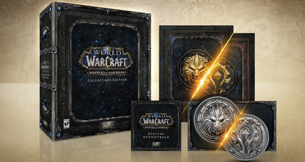 battle for azeroth : l'edition collector en images