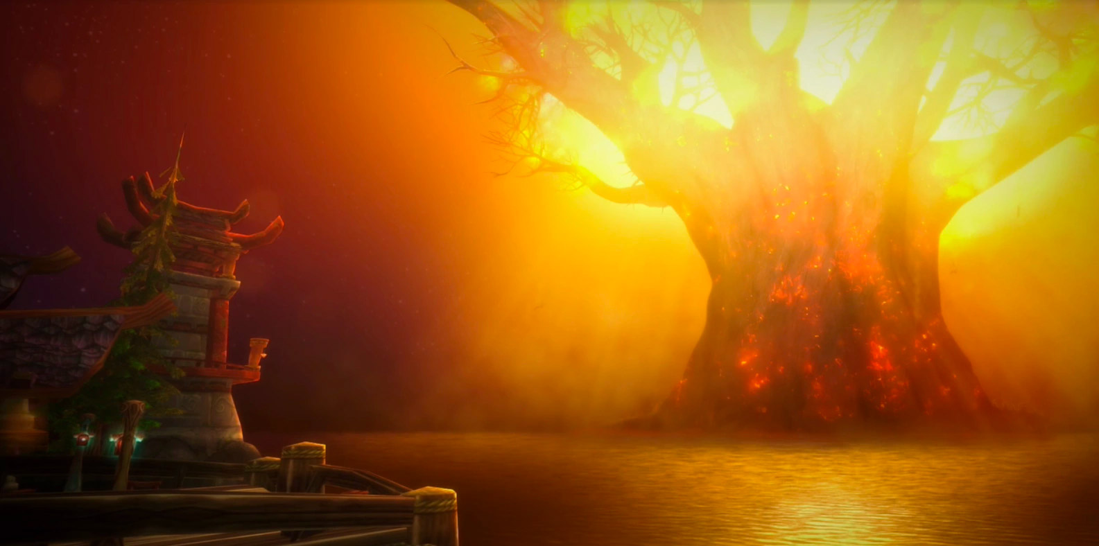 Patch 8.0 : introduction à l'incendie de Teldrassil et la bataille de Lordaeron