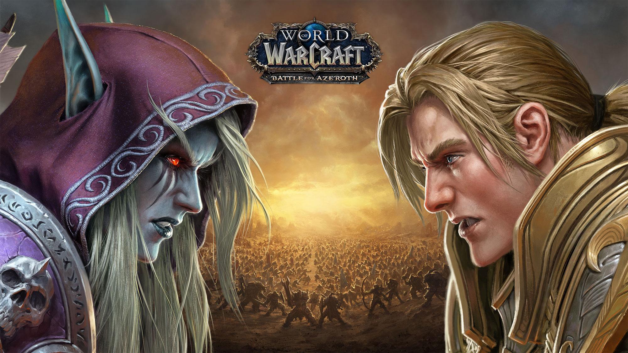 Battle for Azeroth : sortie le 14 août 2018