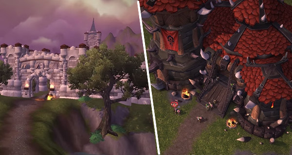 battle for azeroth : premier apercu des fronts de guerrre