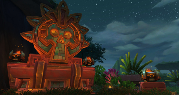 battle for azeroth : zuldazar, zone de zandalar