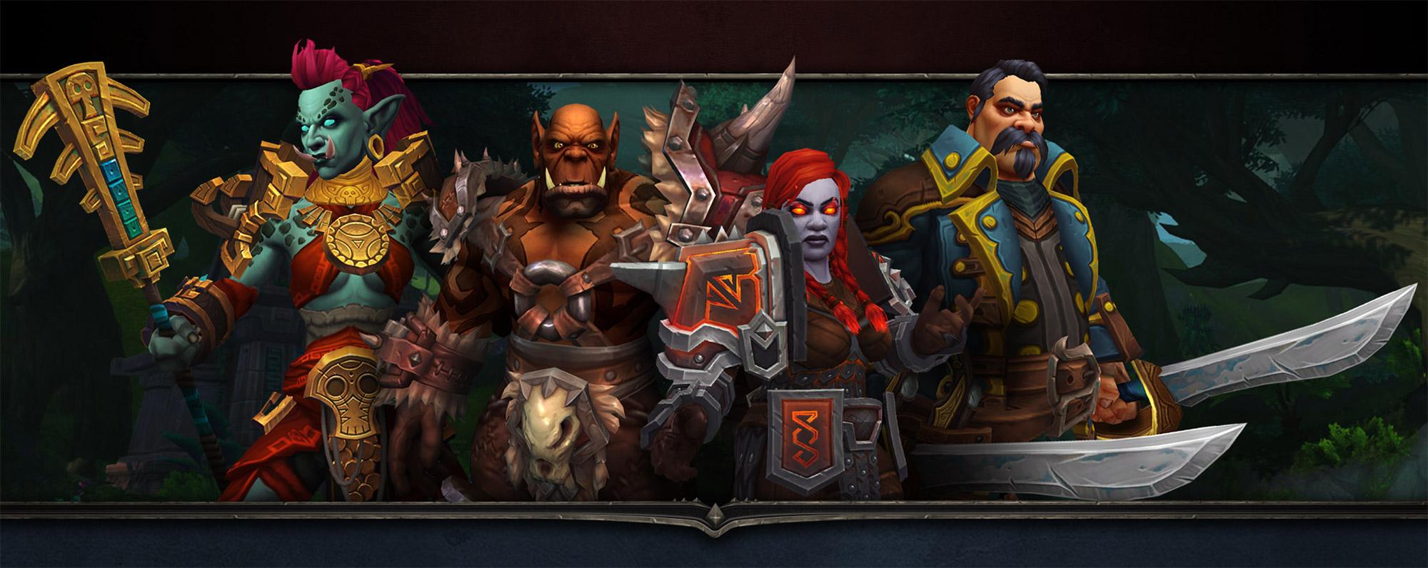 Les quatre races alliées qui pourront être débloquées dans Battle for Azeroth