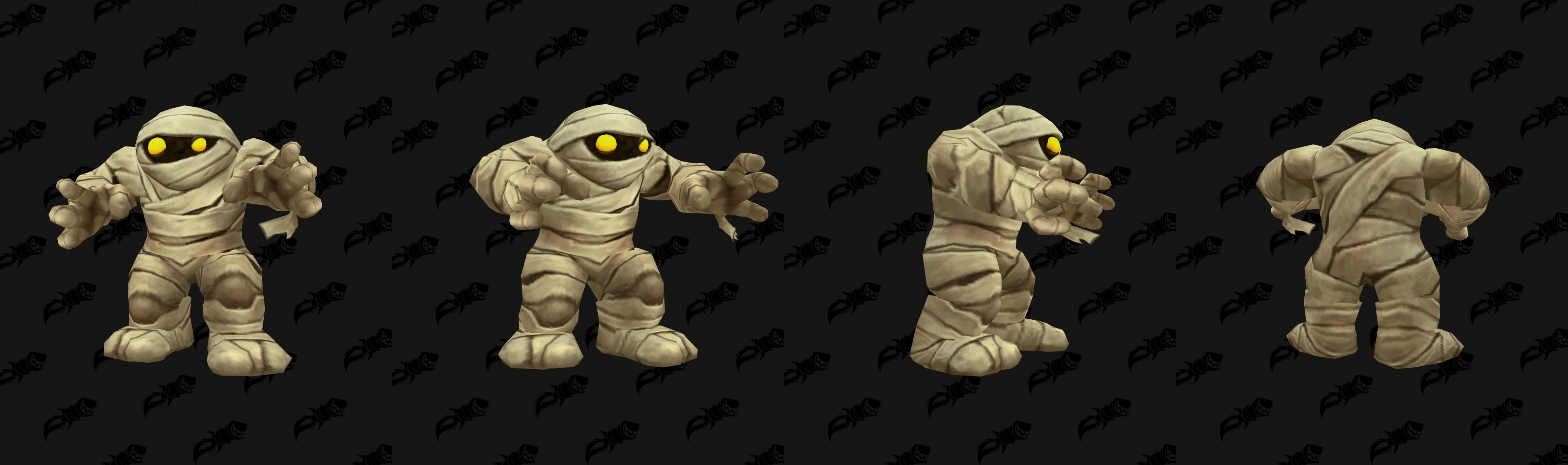 Modèle de mascotte momie dans Battle for Azeroth